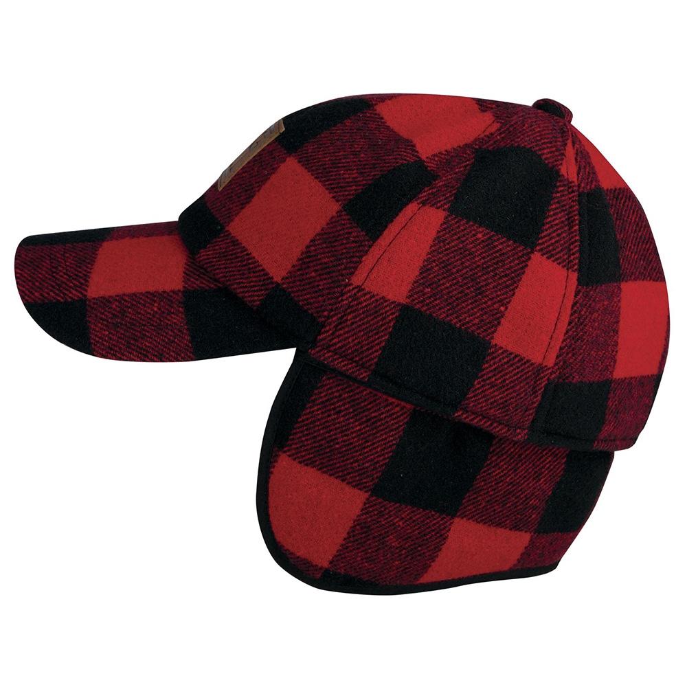 16f6584fd6b Big Bill Plaid Wool Hunting Hat with Ear Flaps BBHHAT2