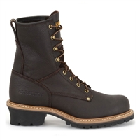 Carolina Elm Mens Briar Brown 8-Inch Logger Work Boot