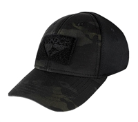 Condor Mulitcam Black Flex Tactical Cap - 161080-021