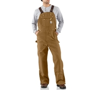 Carhartt Zip to Thigh Bib Overalls - R37