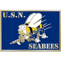 EEI US Navy Seabees  Belt Buckle - B0123