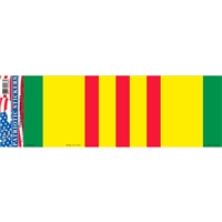 Vietnam Veteran Flag Bumper Sticker - BM0067