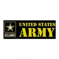 US Army Star Logo Bumper Sticker - BM0453