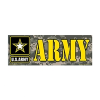 US Army Star Logo Bumper Sticker - BM0455