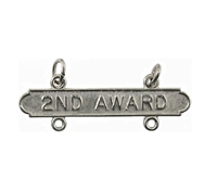 EEI Marine Corp Rifle 2nd Award Re-Qualification Bar - M8602