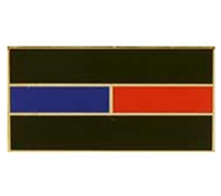 USA Blue-Red Line Honor Flag-Pin - P06887