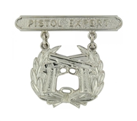 EEI Marine Corps Pistol Expert Qualification Badge - P16370