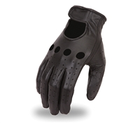 First Manufacturing FI190GL Leather Driving Gloves