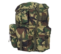 Fox Outdoor Woodland Camo Large Alice Field Pack - 54-514T