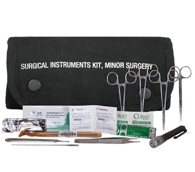 Black Surgical Kit Pouch 57-715
