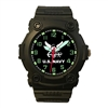 Frontier US Navy Black Analog Watch - 24C