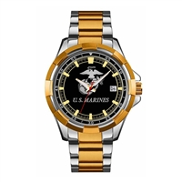 Frontier U.S. Marines Stainless Steel Watch - 3Q
