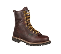 Georgia Waterproof Lace To Toe Work Boot - G101