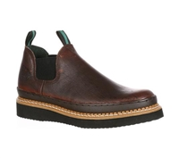 Georgia Boots Mens Brown Giant Romeo Work Shoes