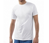 Hanes 3 Pack White Crew Neck T-Shirt - 2135