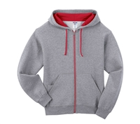 Jerzees Nublend Full-Zip Hooded Sweatshirt - 93CR
