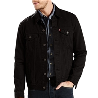 Levis Lamar Black Trucker Jacket 72334-0223