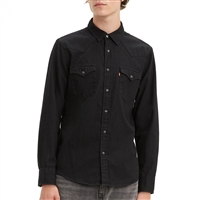 Levis New Black Rinse Western Shirt - 85745-0000