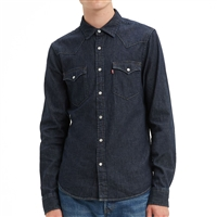 Levis Red Cast Rinse Western Shirt - 85745-0002