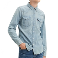 Levis Red Cast Stone Wash Western Shirt - 85745-0003