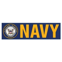 US Navy Bumper Sticker D104-N