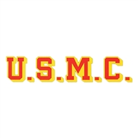 U.S.M.C. Window Strip Decal D137-M