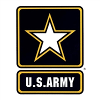United States Army Star Logo Window Decal D143-A