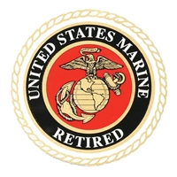 US Marine Corps  Retired Decal D16-MR