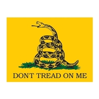 Do Not Tread On Me Decal D23