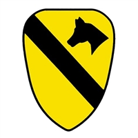 US Army 1st Cavalry Division Decal D61-A