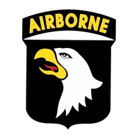 US Army 101st Airborne Shield Decal D62-A