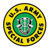 US Army Special Forces Logo Decal D64-A