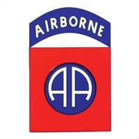 US Army 82nd Airborne Division Logo Decal D67-A