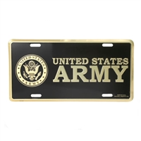 Mitchell Proffitt US Army Crest License Plate LA02