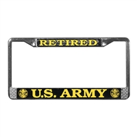 Mitchell Proffitt US Army Retired License Plate Frame LFA02
