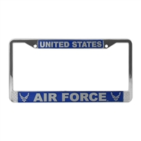 Mitchell Proffitt US Air Force License Plate Frame LFAF10