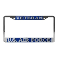 Mitchell Proffitt US Air Force Veteran License Plate Frame LFAFV