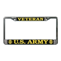 Mitchell Proffitt US Army Veteran License Plate Frame LFAV