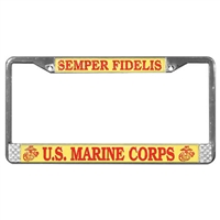 Mitchell Proffitt US Marines License Plate Frame LFM01