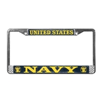 Mitchell Proffitt US Navy License Plate Frame LFN01