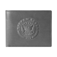 US Navy Crest Embossed Wallet TW-26