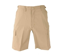 Propper Khaki Poly Cotton Ripstop BDU Shorts - F526138250