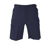 Propper Navy Poly Cotton Ripstop BDU Shorts - F526138405