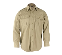 Propper Khaki Long Sleeve Tactical Dress Shirts - F530238250