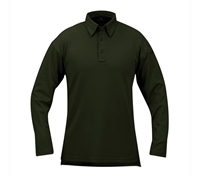 Propper Dark Green Long Sleeve ICE Performance Polos - F531572311