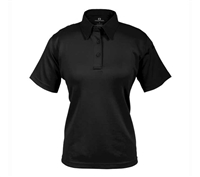 Propper Womens Black ICE Short Sleeve Polos - F532772001