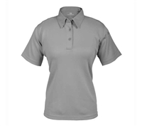 Propper Womens Grey ICE Short Sleeve Polos - F532772020