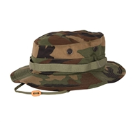 Propper Woodland Camo Cotton Ripstop Boonie Hats - F550155320