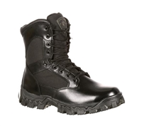 Rocky Boots Mens Black 8-Inch AlphaForce Duty Boot