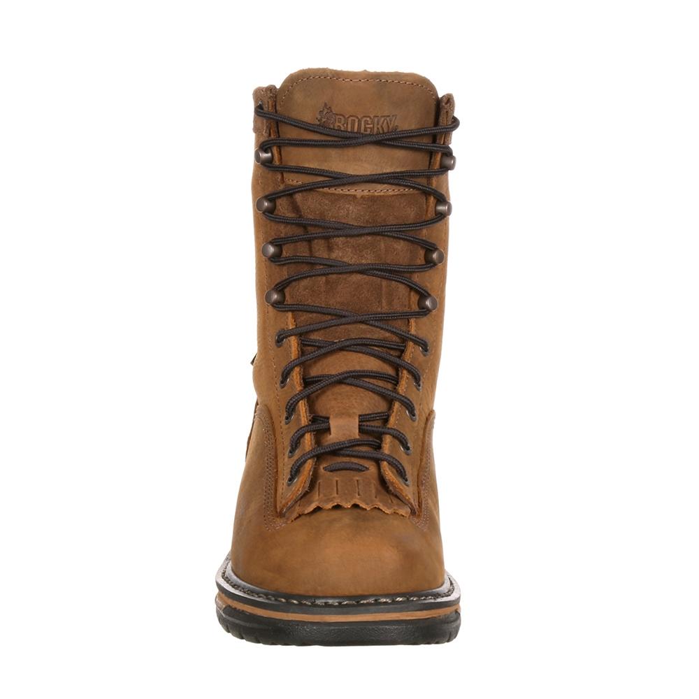 86e25e57902 Rocky IronClad Steel Toe Waterproof Work Boot 6698